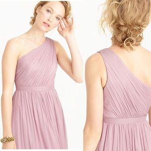 J Crew Kylie Silk Chiffon Dress Dusty Thistle 20